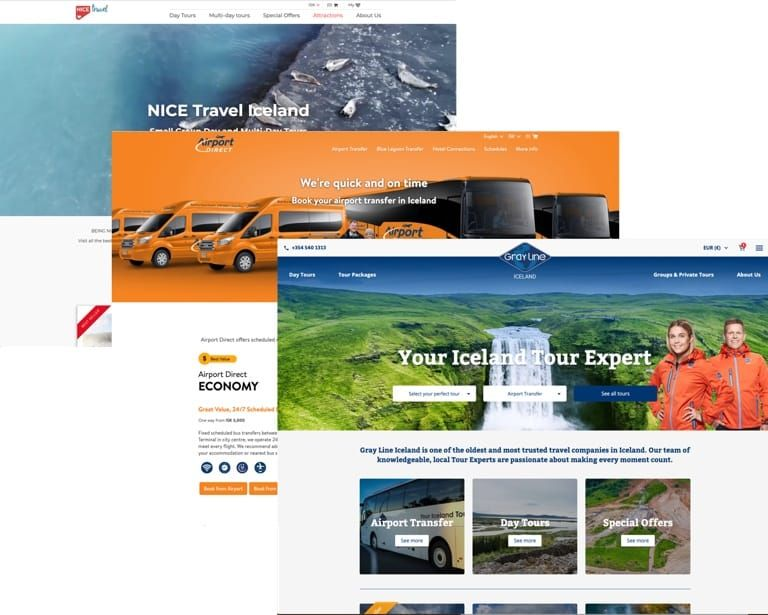 Examples of sites built in Getlocal